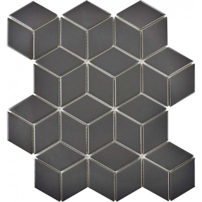Мозаика Landa Black matt 267x309