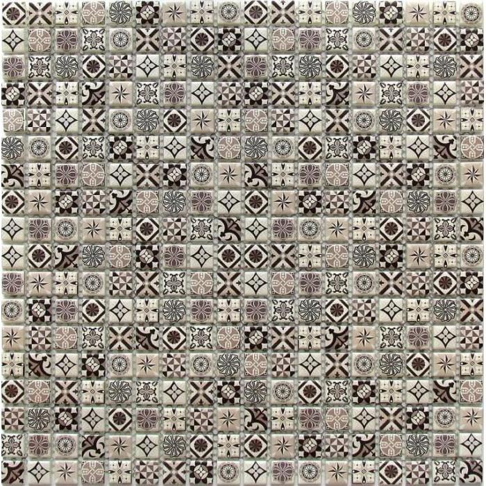 Мозаика стеклянная Xindi grey 300x300