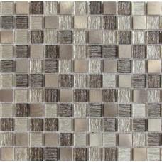 Мозаика Trend Bronze 300х300 стеклянная