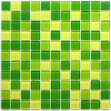 Мозаика стеклянная Apple Mix 300x300