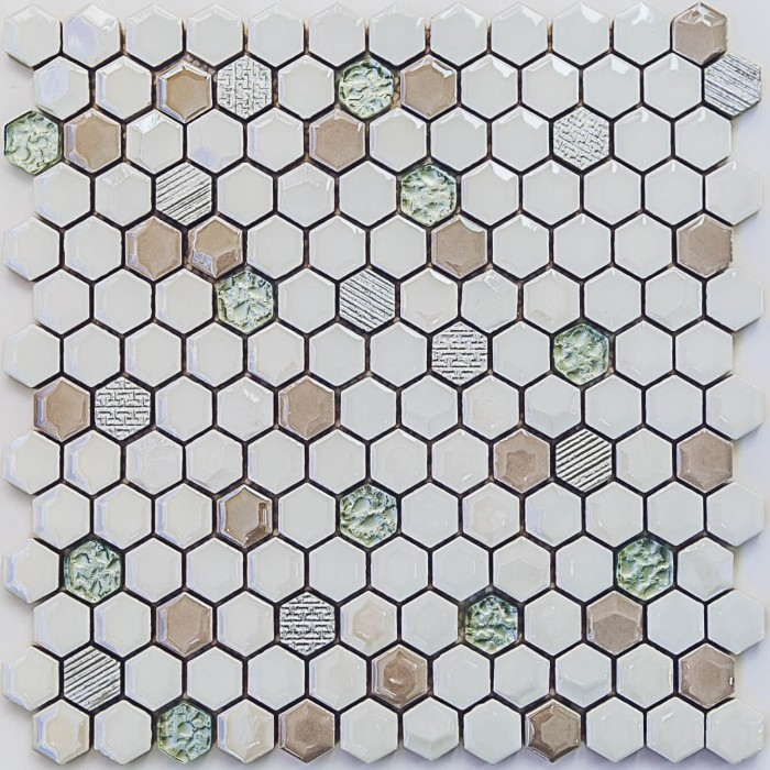 Мозаика Deluxe 305х302 керамическая