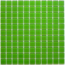 Мозаика стеклянная Green Glass 300x300