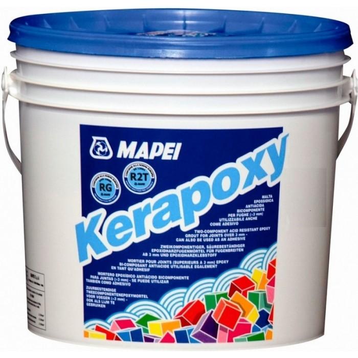 Эпоксидная затирка для швов Mapei Kerapoxy Design №704 неро, 3кг.