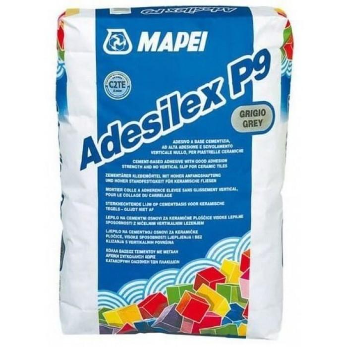 Клей Mapei Adesilex P9 серый для мозаики 25кг