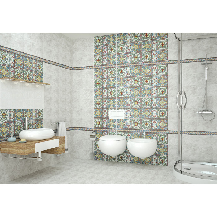Декор AZORI Alba Grey 505x201 Marrakech