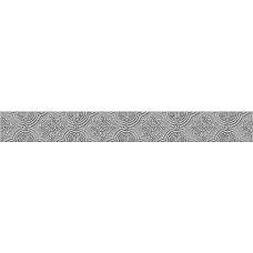 Бордюр AZORI Amadeus 505x62 Grey