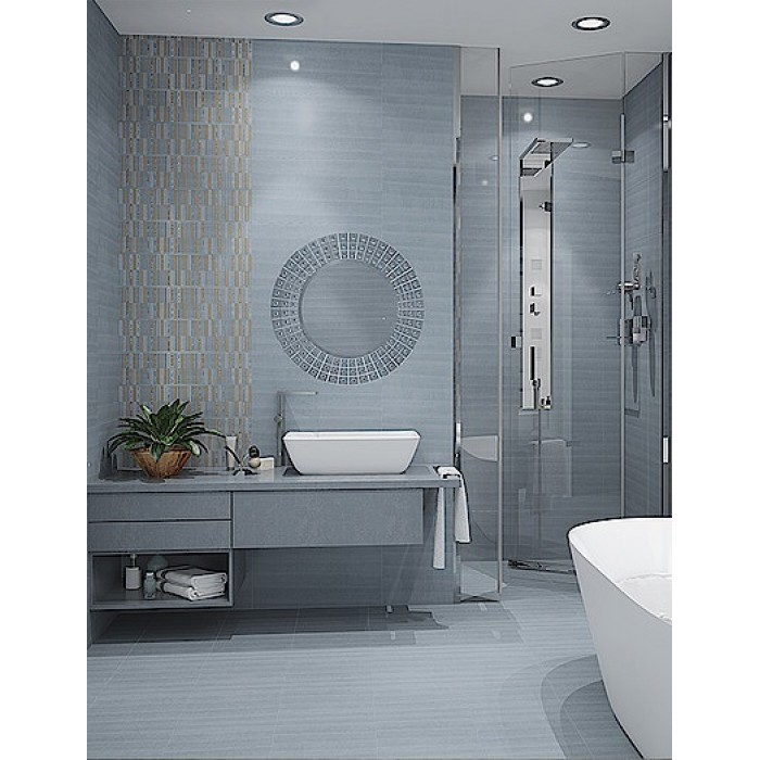 Декор AZORI Aura Atlantic 630x315 Geometria Decor