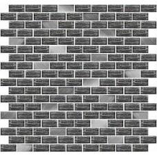 Мозаика AZORI Devore 304x300 gris JA-04