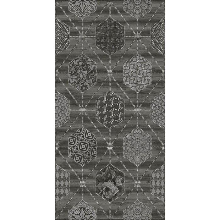 AZORI Devore 315x630 декор gris geometria