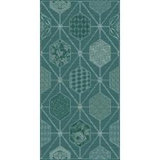AZORI Devore 315x630 декор indigo geometry