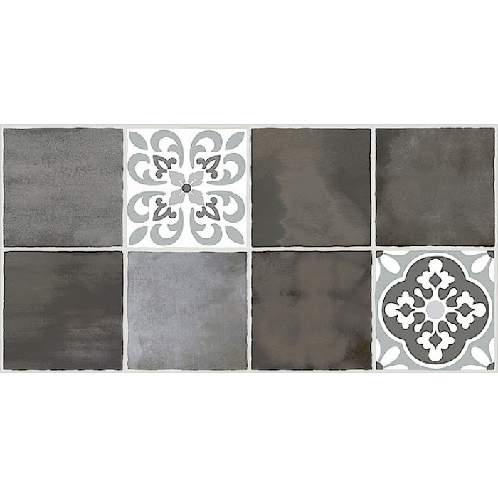 Плитка настенная AZORI Glam Mocca Ornament 1 630x315