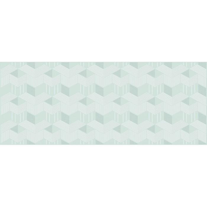 Плитка настенная AZORI Lounge декор mint 505x201 geometria