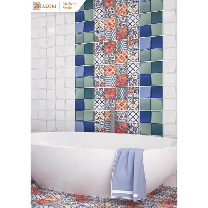 Настенная плитка AZORI Marbella Bianco 630х315