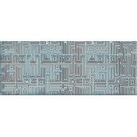 Декор AZORI Nuvola Aqua 505x201 Labirint