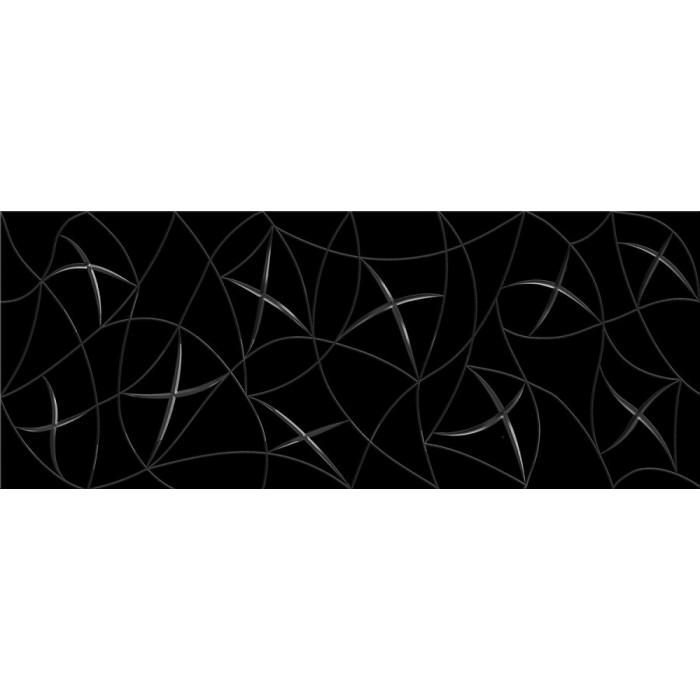 Декор AZORI Vela Nero 505x201 Stella