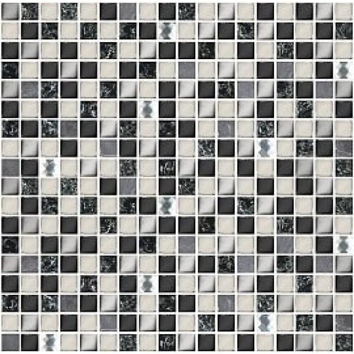 Мозаика AZORI Vela Nero 300x300 XH156