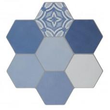 Керамогранит Azuliber Cursa Azul 400x400
