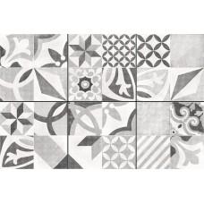 Керамогранит CERSANIT Apeks 420х420 серый декорированный AS4R092D