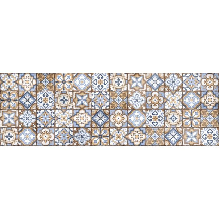 Плитка настенная CERSANIT Atlas 600x200 рельеф многоцветный C-ATS451D