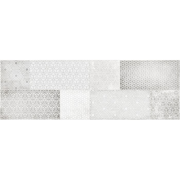 Декор CERSANIT Atlas 600x200 серый AT2S091DT