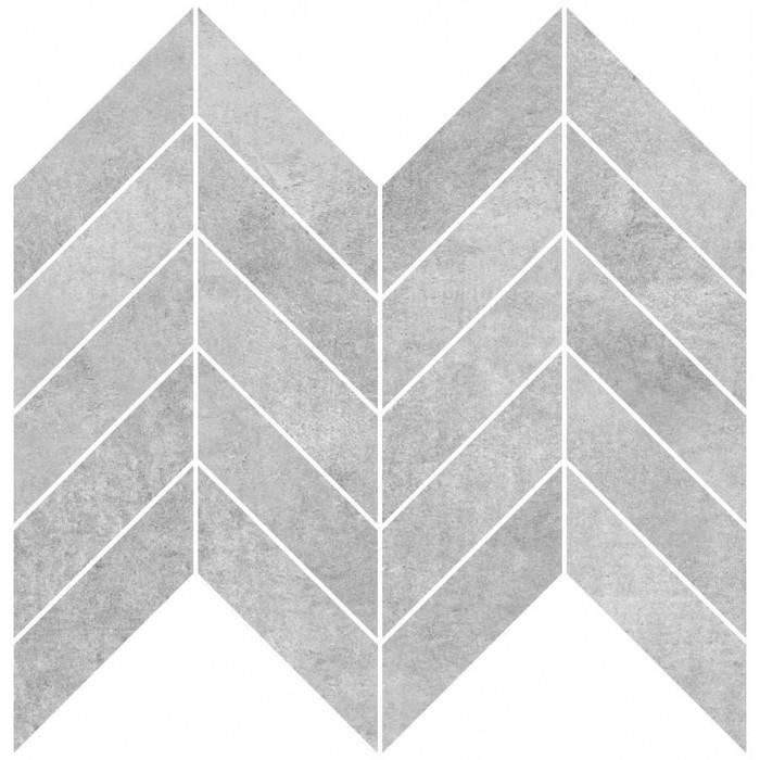 Декор CERSANIT Brooklyn 300х230 мозаика серый A-BL2L091\G