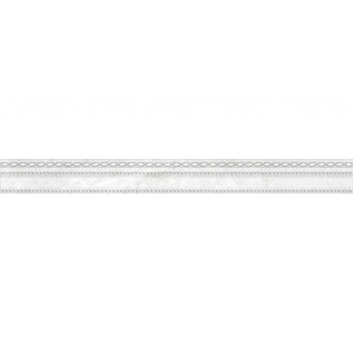 Бордюр CERSANIT Dallas 600х60 светло-серый A-DA1L521/D