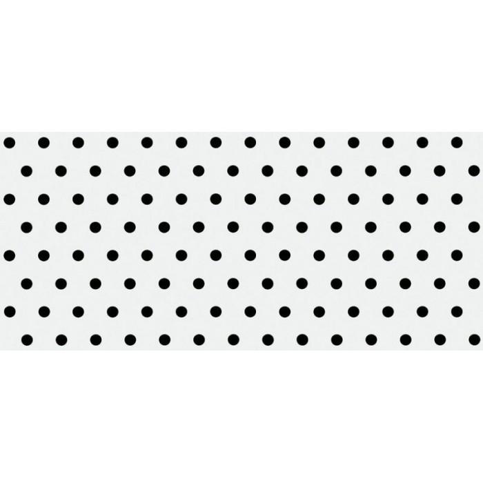 Плитка настенная CERSANIT Evolution 440x200 вставка точки черно-белый EV2G441