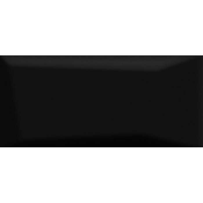 Плитка настенная CERSANIT Evolution 440x200 рельеф черный EVG232