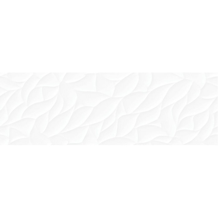Плитка настенная CERSANIT Glory 750х250 рельеф белый GOU052