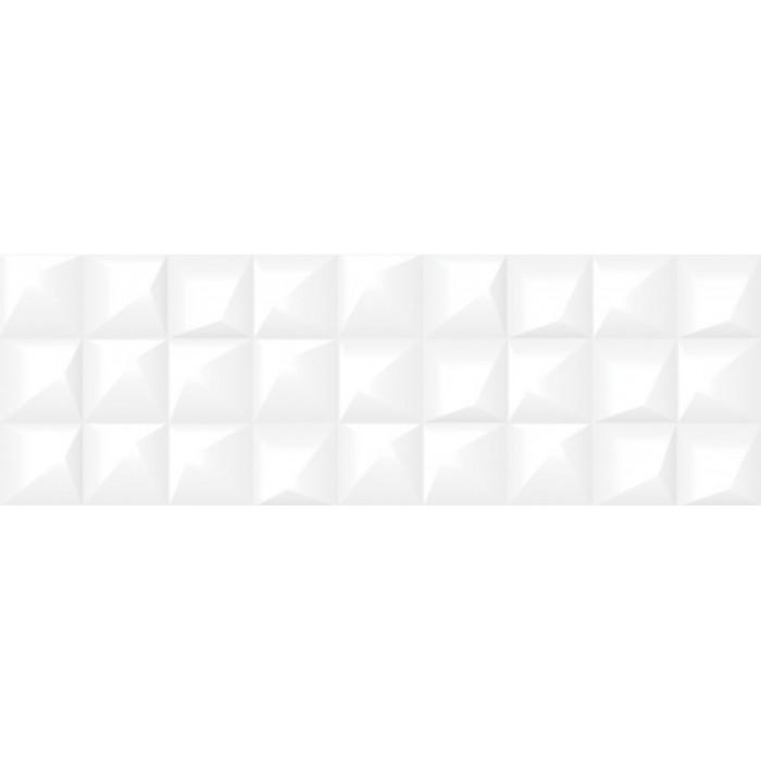 Плитка настенная CERSANIT Gradient 598x198 рельеф белый GRS052