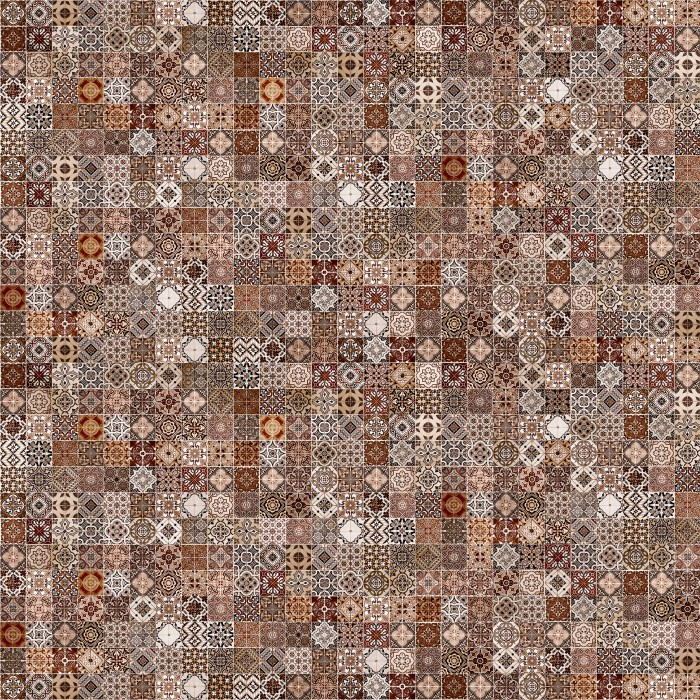Керамогранит CERSANIT Hammam 420х420 коричневый HA4R112D