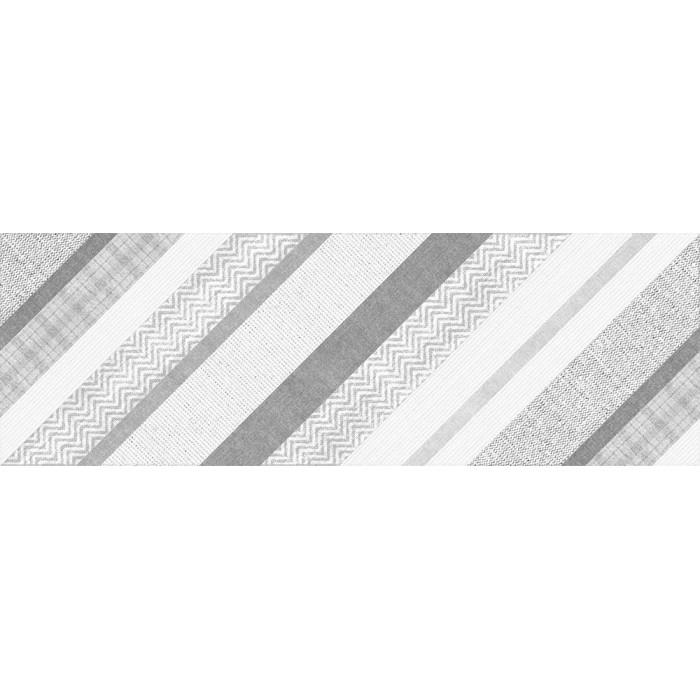 Декор CERSANIT Hugge 750х250 вставка серый B HG2U092DT