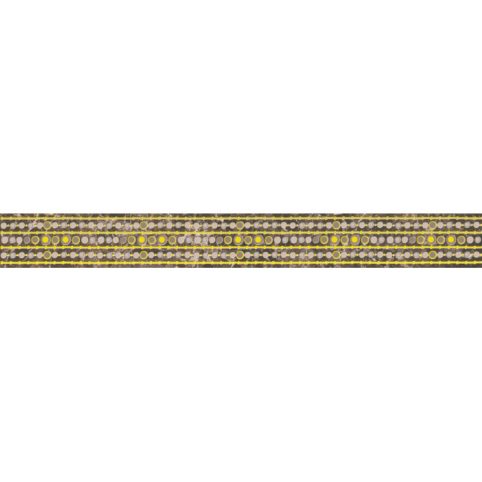 Бордюр CERSANIT Ingir 440х50 коричневый IO1J111