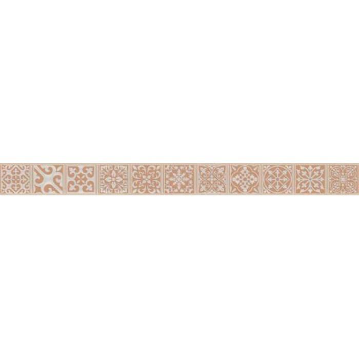 Керамогранит CERSANIT Berkana 598x50 бордюр напольный коричневый BK5D112