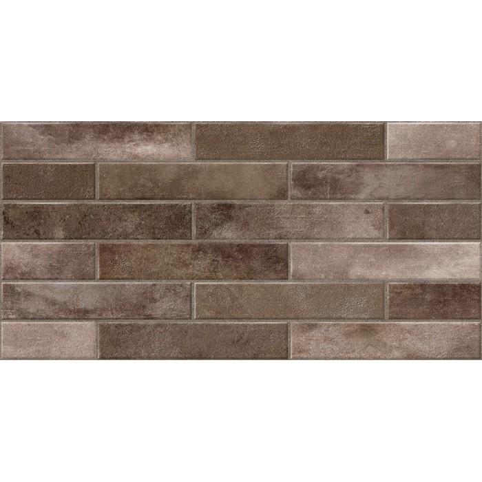 Керамогранит CERSANIT Bricks 598х297 коричневый C-BC4L112D
