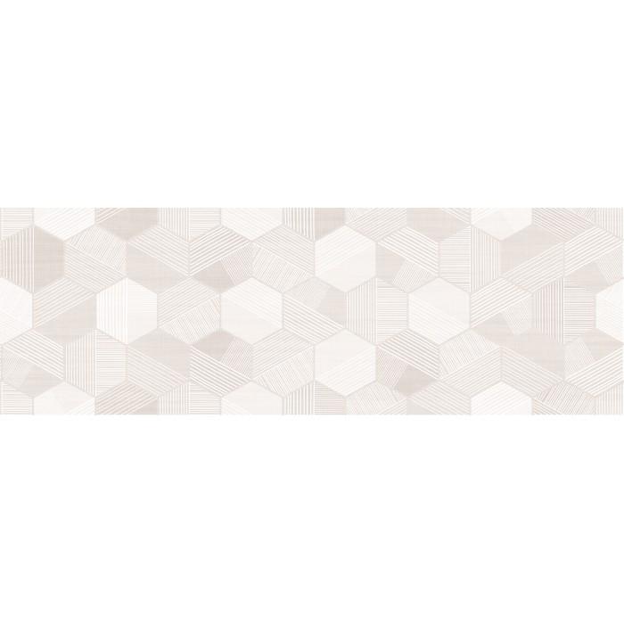 Декор CERSANIT Lin 600x200 гексагон бежевый LN2S012DT