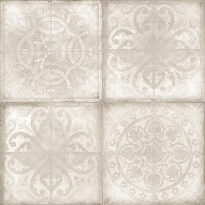 Керамогранит CERSANIT Luara 420х420 бежевый декорированный LU4R012D