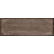 Плитка настенная CERSANIT Majolica 600х200 рельеф коричневый C-MAS111D