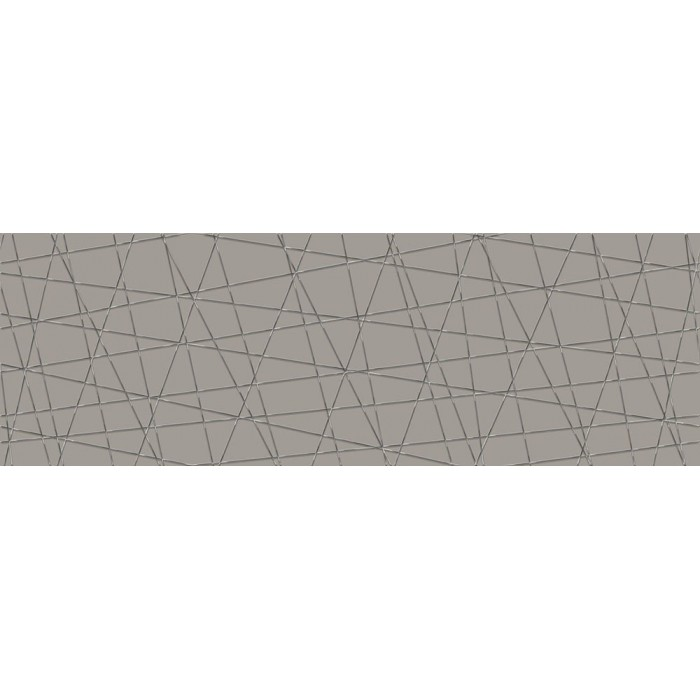 Декор CERSANIT Vegas 750х250 вставка серый VG2U091