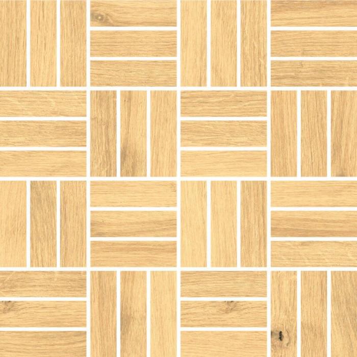 Мозаика CERSANIT Woodhouse 300х300 бежевый WS6O016
