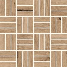 Мозаика CERSANIT Woodhouse 300х300 темно-бежевый WS6O156