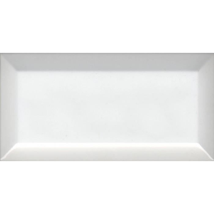 Настенная плитка Dar Ceramics Biselado Blanco Brillo 200x100 (кабанчик)