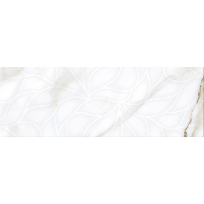 Плитка настенная ELETTO Calacatta 700х242 Light Struttura ректификат