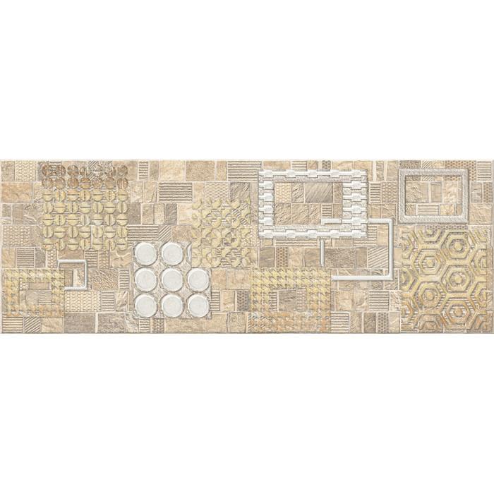 Декор ELETTO Commesso 709х251 Beige Geometria золото