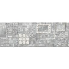 Декор ELETTO Commesso 709х251 Grigio Geometria платина