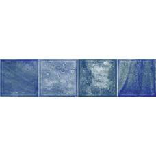 Плитка настенная ELETTO Faenza 630х156 Cobalt