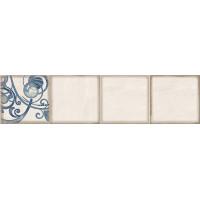 Декор ELETTO Faenza 630х156 фриз Cobalt Ornament 2