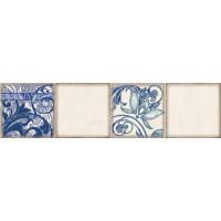 Декор ELETTO Faenza 630х156 фриз Cobalt Ornament 3