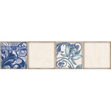 Декор ELETTO Faenza 630х156 фриз Cobalt Ornament 3