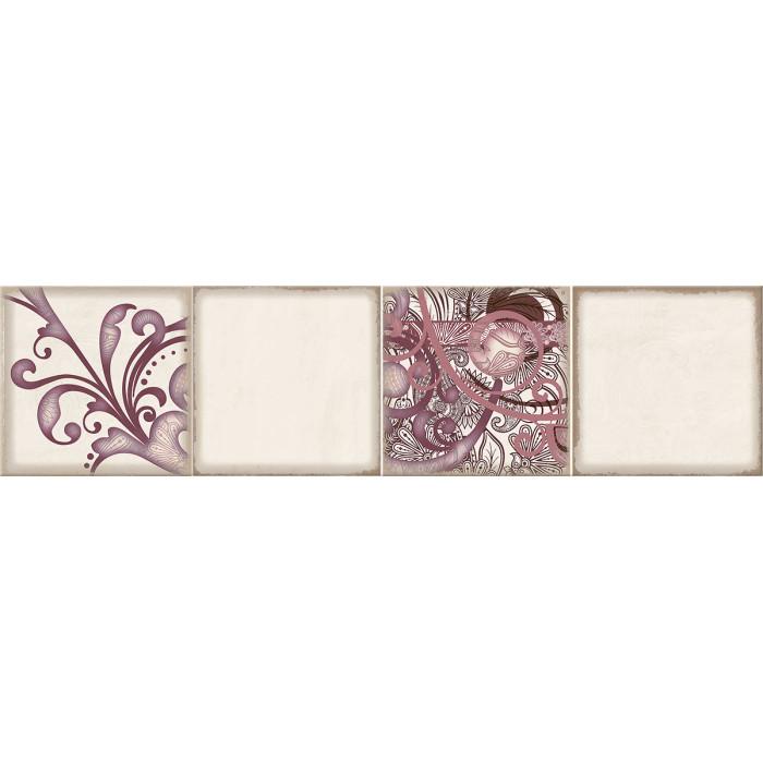 Декор ELETTO Faenza 630х156 фриз Wine Ornament 1